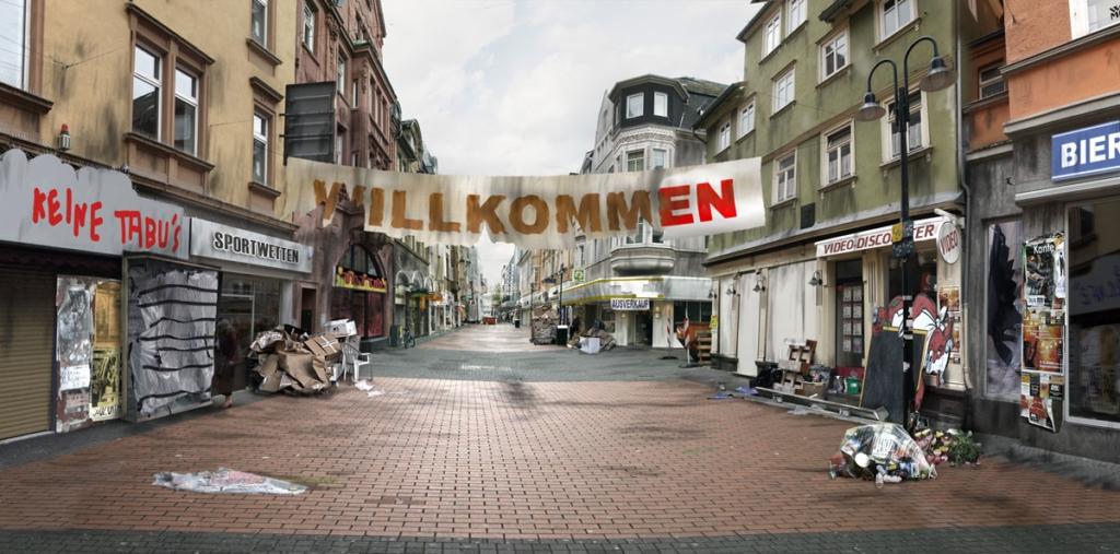 Seltersweg Fotomontage –Bildbearbeitung Till Schürmann